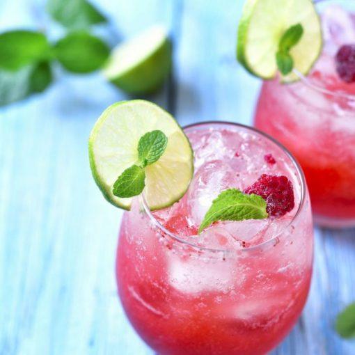 Raspberry-Gin-Daisy