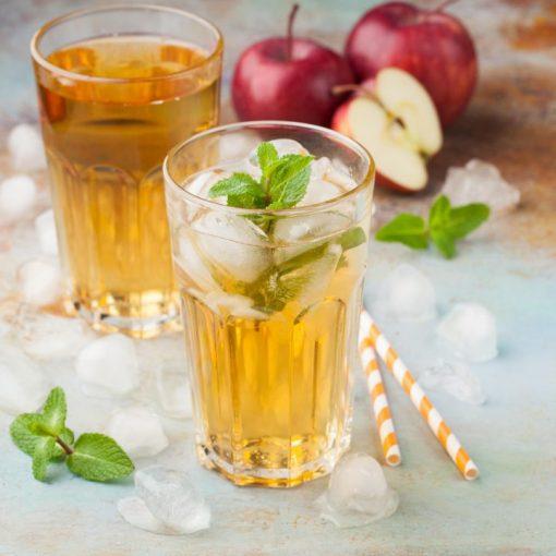 apple-mint-iced-tea