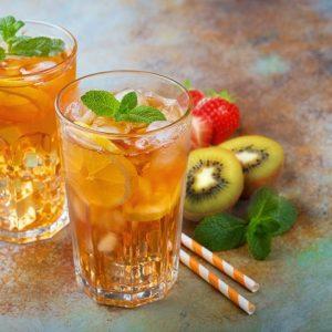 Fizzy Kiwiberry Iced Tea