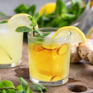 Lemon Ginger Honey Cider