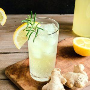 Lemon Ginger & Honey Soda