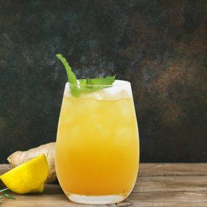 Mango & Lemon Fizz