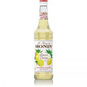 Monin Glasco Lemon Syrup