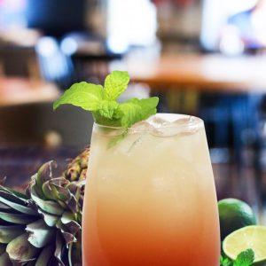 Pineapple Cobbler (Non-Alcoholic)