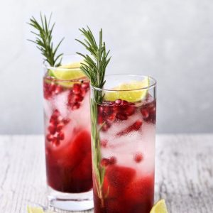 Pomegranate (Grenadine) Iced Tea