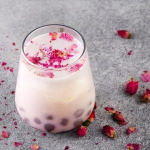 Rose Bubble Tea