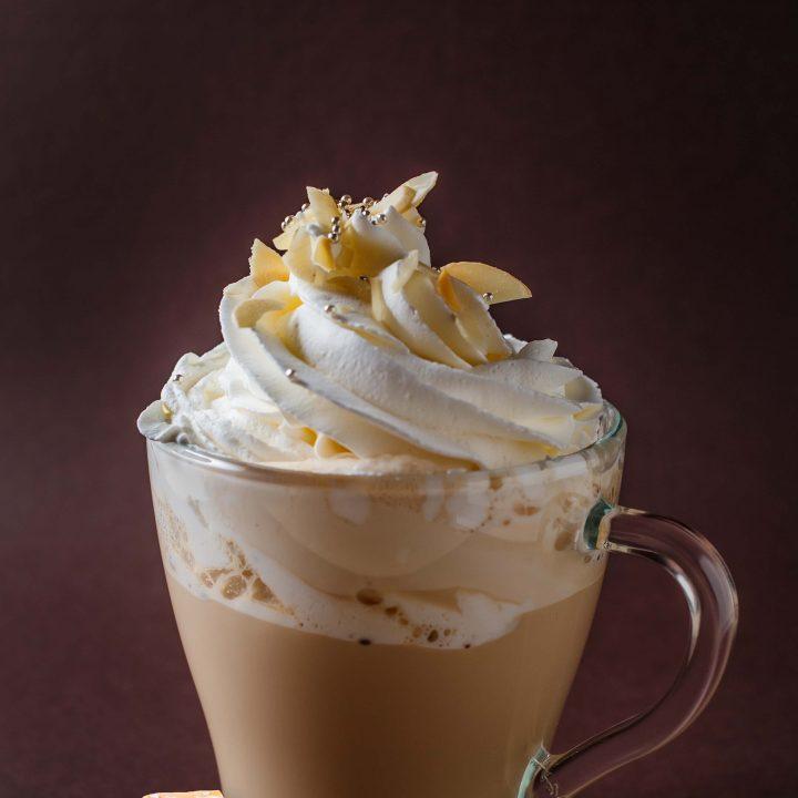 Salted Caramel Iced Latte