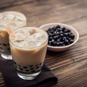 Salted Caramel Milk Tea