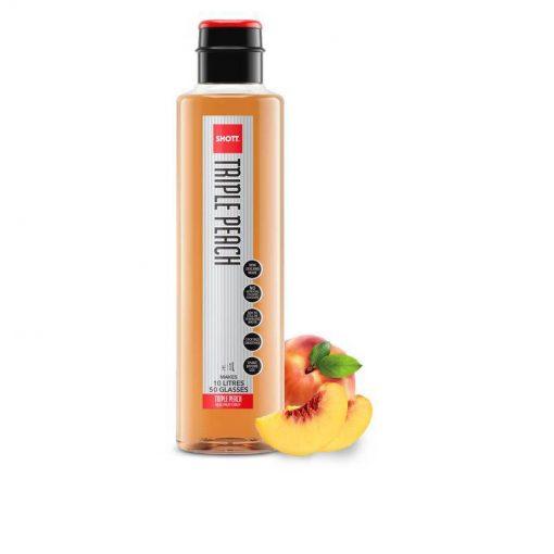 SHOTT Triple Peach Syrup 1L