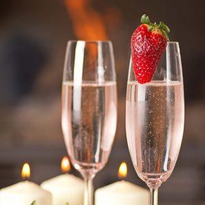 Strawberry And Prosecco Rossini