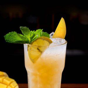 Tropical Mango Sapphire Soda