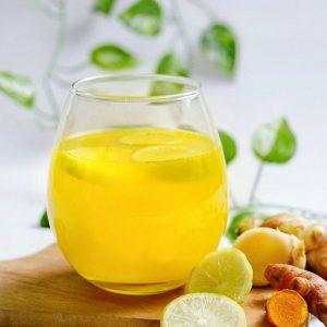 Turmeric Lemon Ginger & Honey Cider