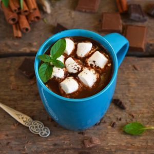 Wild Peppermint Hot Chocolate